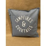favourite things custom Campfires & Cocktails -Pillow