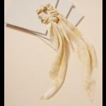 Avenue Zoe yellow tie dye - scarf scrunchie