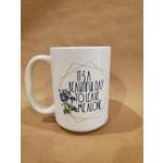 Favourite Textiles It's a beautiful day mug