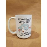 Favourite Textiles We're more then camping friends mug