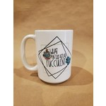 Favourite Textiles What the fucculent mug