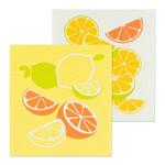 FT Pembroke Swedish dish cloths (2 pack) Citrus
