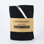 Cheeksahoy Hemp Beauty Cloth - Black