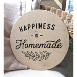 Favourite Things wood Happiness is Homemade