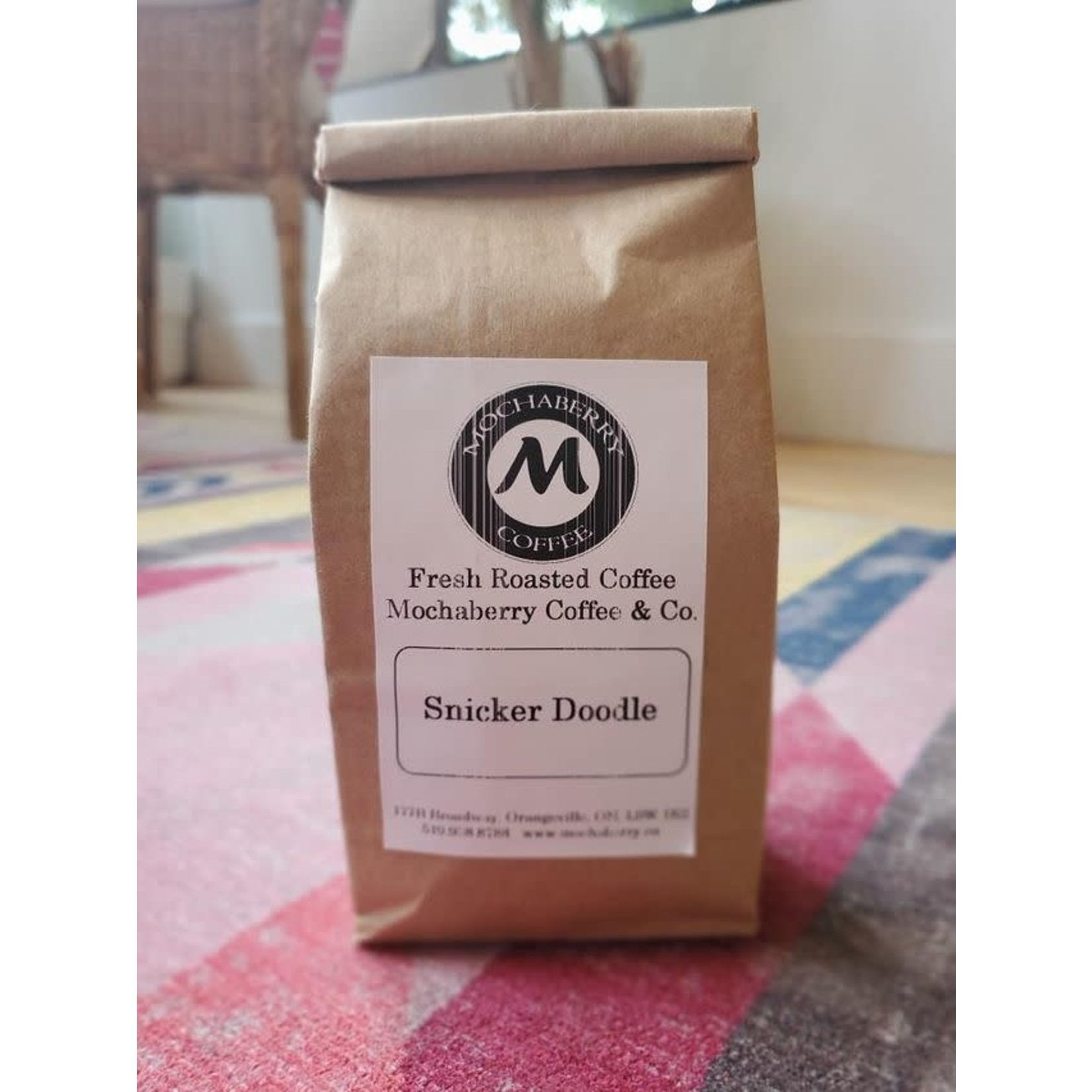 Mochaberry Coffee Co. Snickerdoodle Whole Bean Coffee (8oz)