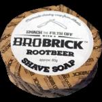 Bro Brick Bro Brick Shave Soap-Rootbeer