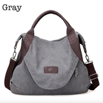 Threaded Pear Everyday Tote - Grey
