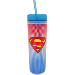 spoontiques Superman cup with straw