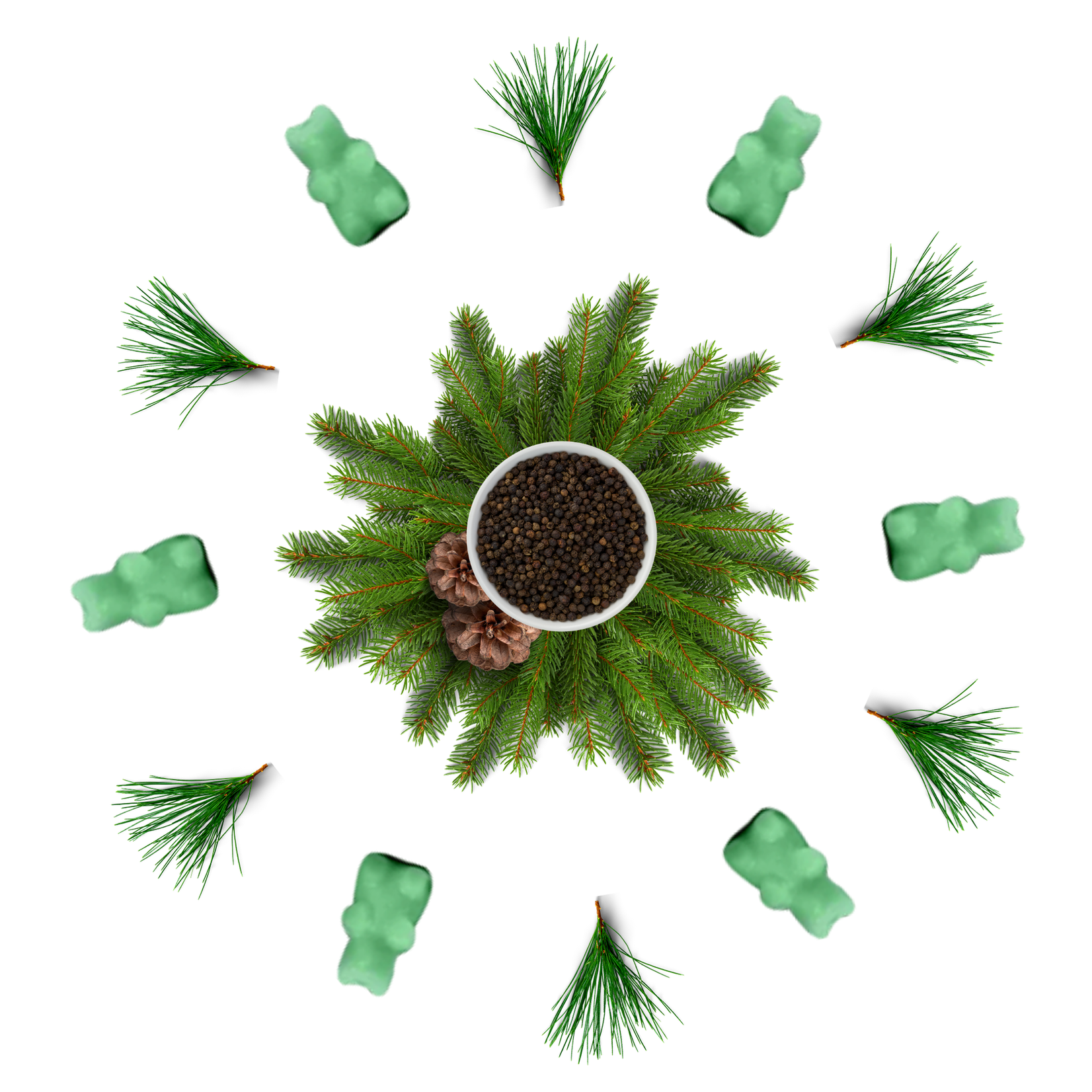 Happy Wax Pepper & Pine Wax Melts
