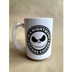 favourite things apparel Nightmare Before Coffee Mug