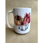 favourite things apparel Watercolor Pumpkin Mug