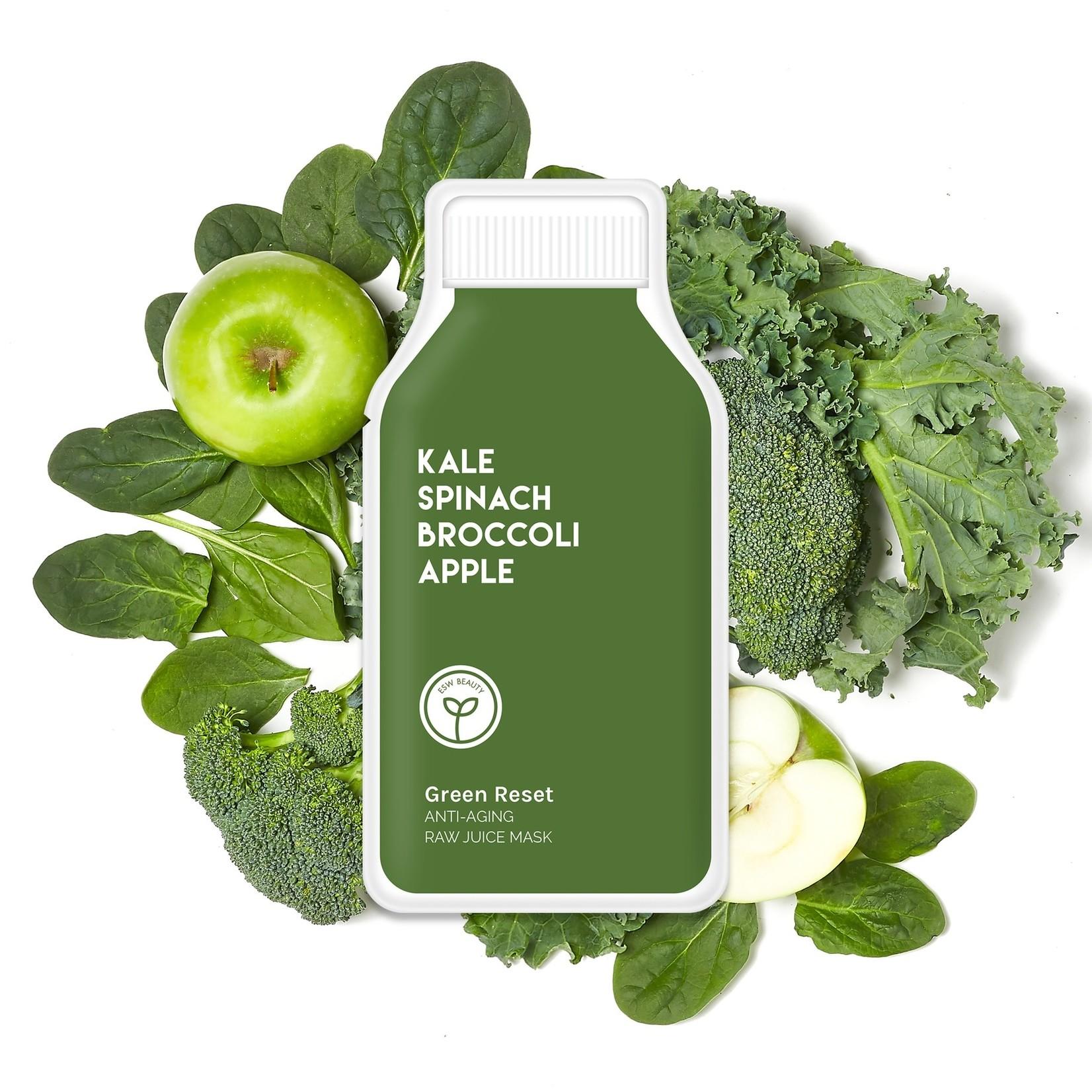 ESW Beauty Green Reset Anti Aging Raw Juice Mask