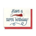 Hennel Paper Co. Super Dog Birthday Card