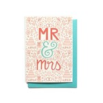 Hennel Paper Co. Mr & Mrs Card