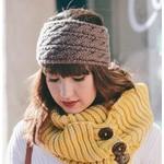 Knit Headband - Mocha