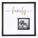 Santa Barbara Best Family Ever 12x12 Frame