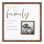 Santa Barbara Love of a Family 12x12 Frame