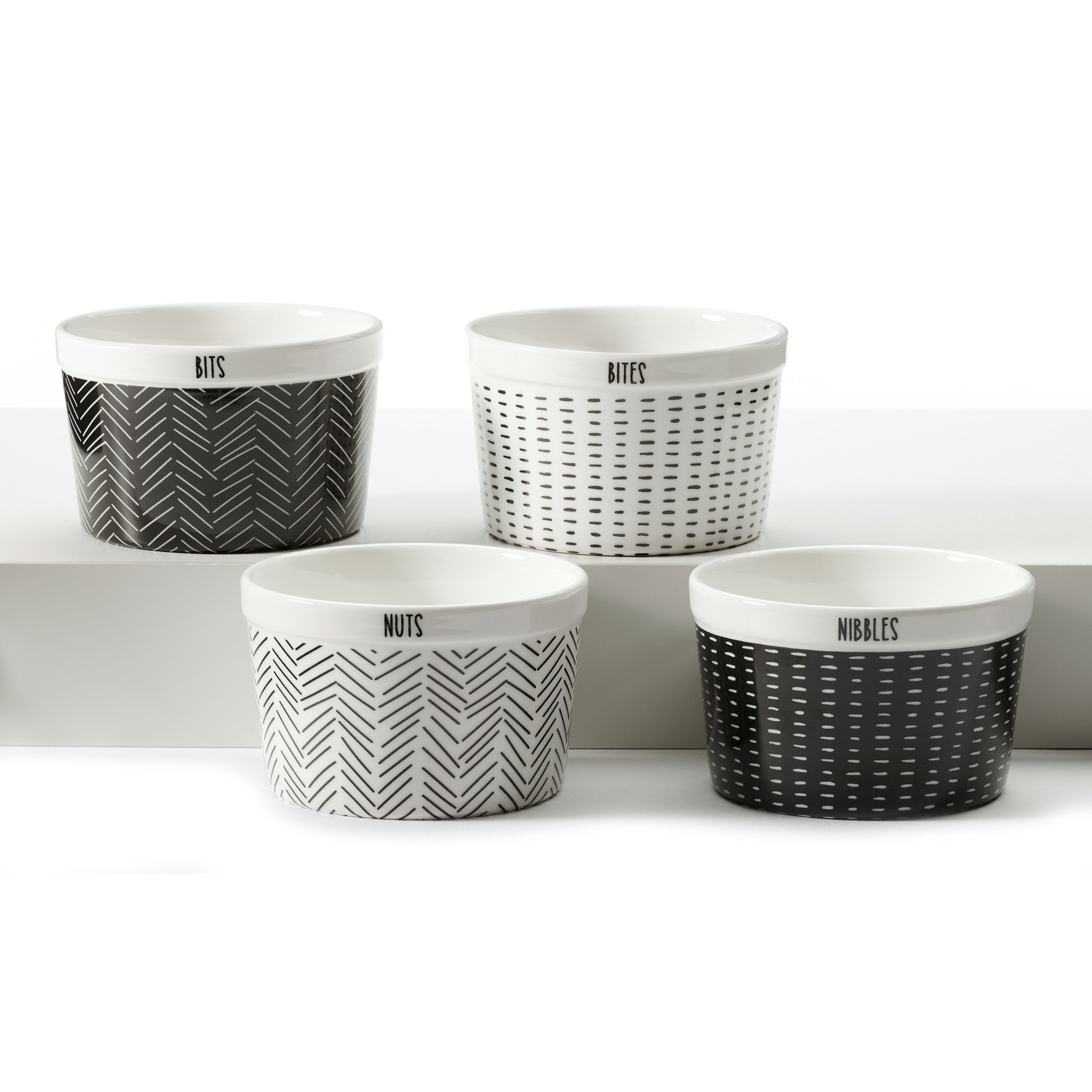 Be Our Guest Snack Bowl Set of 4