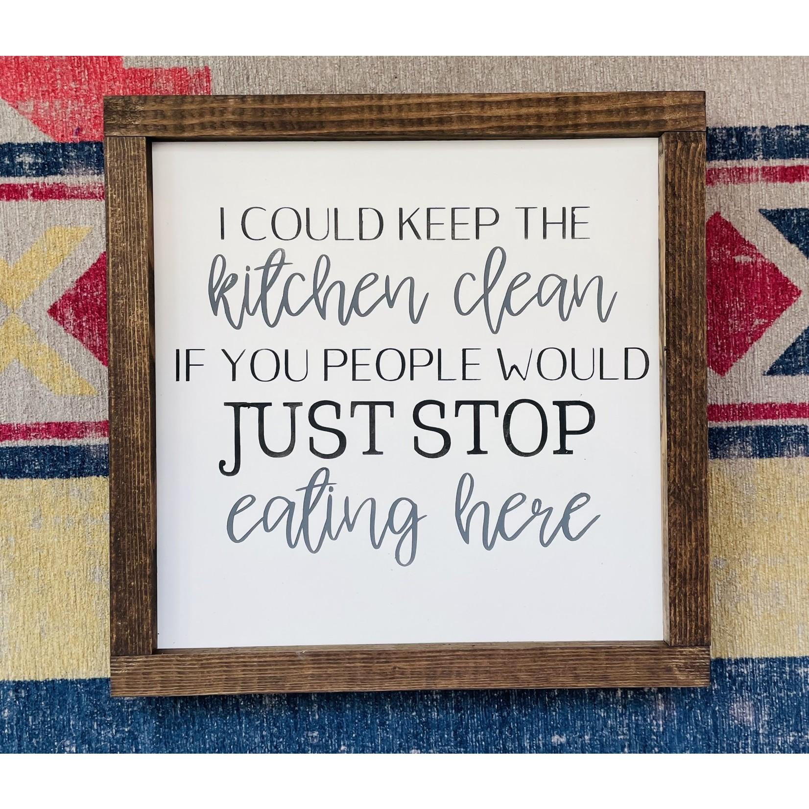 Keep Kitchen Clean 10x10
