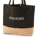 Be Our Guest Cotton & Cork Shopping Bag - Save the Earth