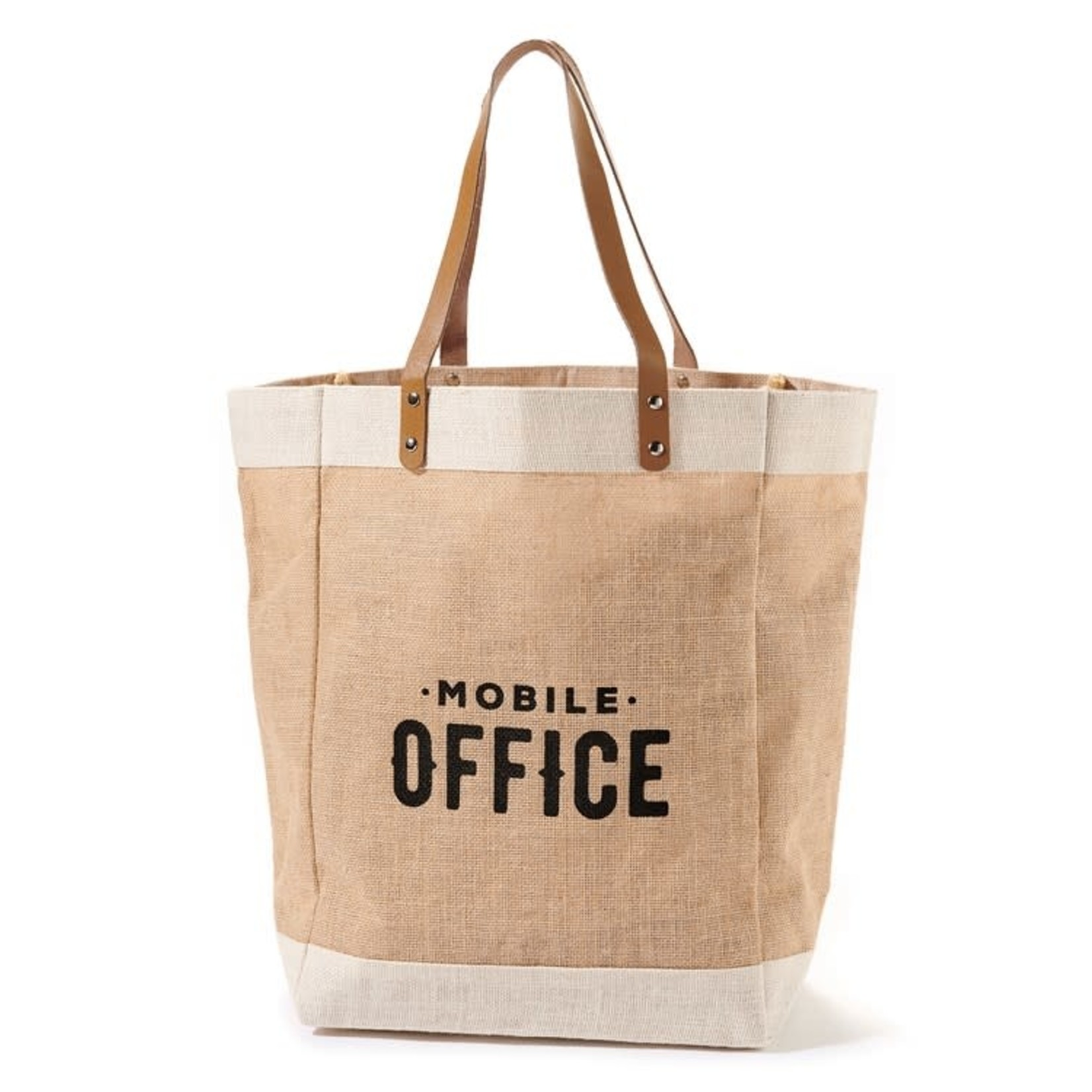 Be Our Guest Canvas Mobile Office Tote