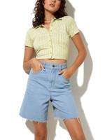 MOTEL MOTEL / Wuma Shirt Green Geo Retro
