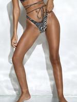 MOTEL MOTEL / Farida Bikini Bottom 70s Ripple Brown