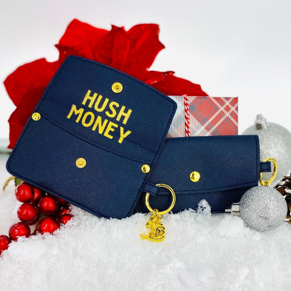 SANTA BARBARA CREDIT CARD POUCH-HUSH MONEY