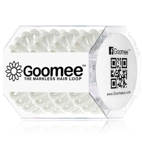 GOOMEE GOOMEE PEARLY WHITE HAIR LOOPS