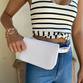 DTLA BELT BAG WHITE