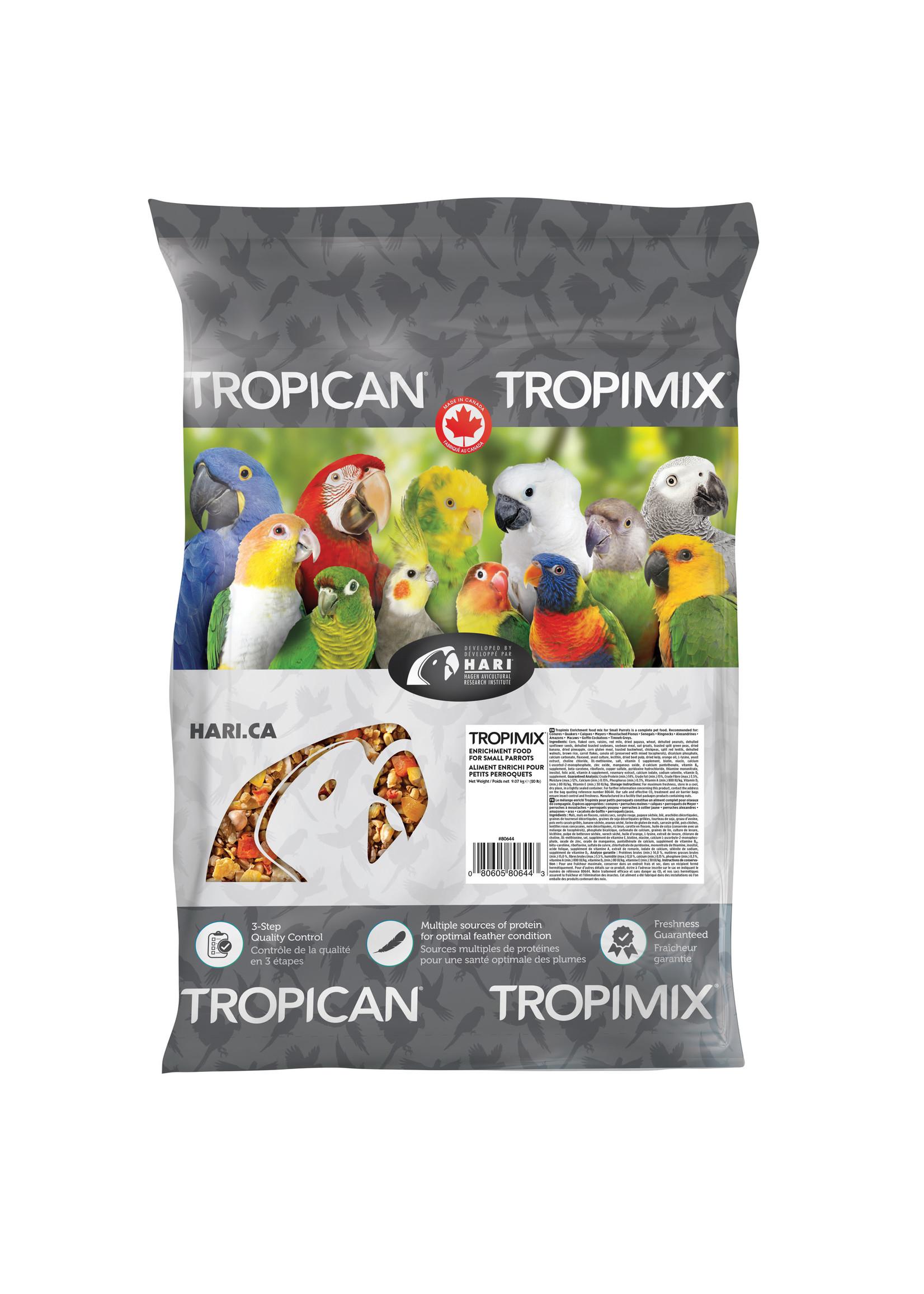 Hagen Hagen Tropimix  for Small Parrots (20lb)