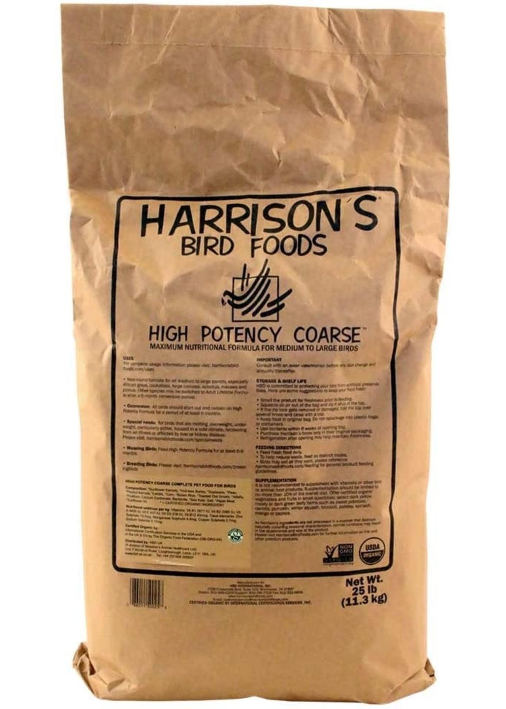 Harrison's Harrison's High Potency Coarse 25lb