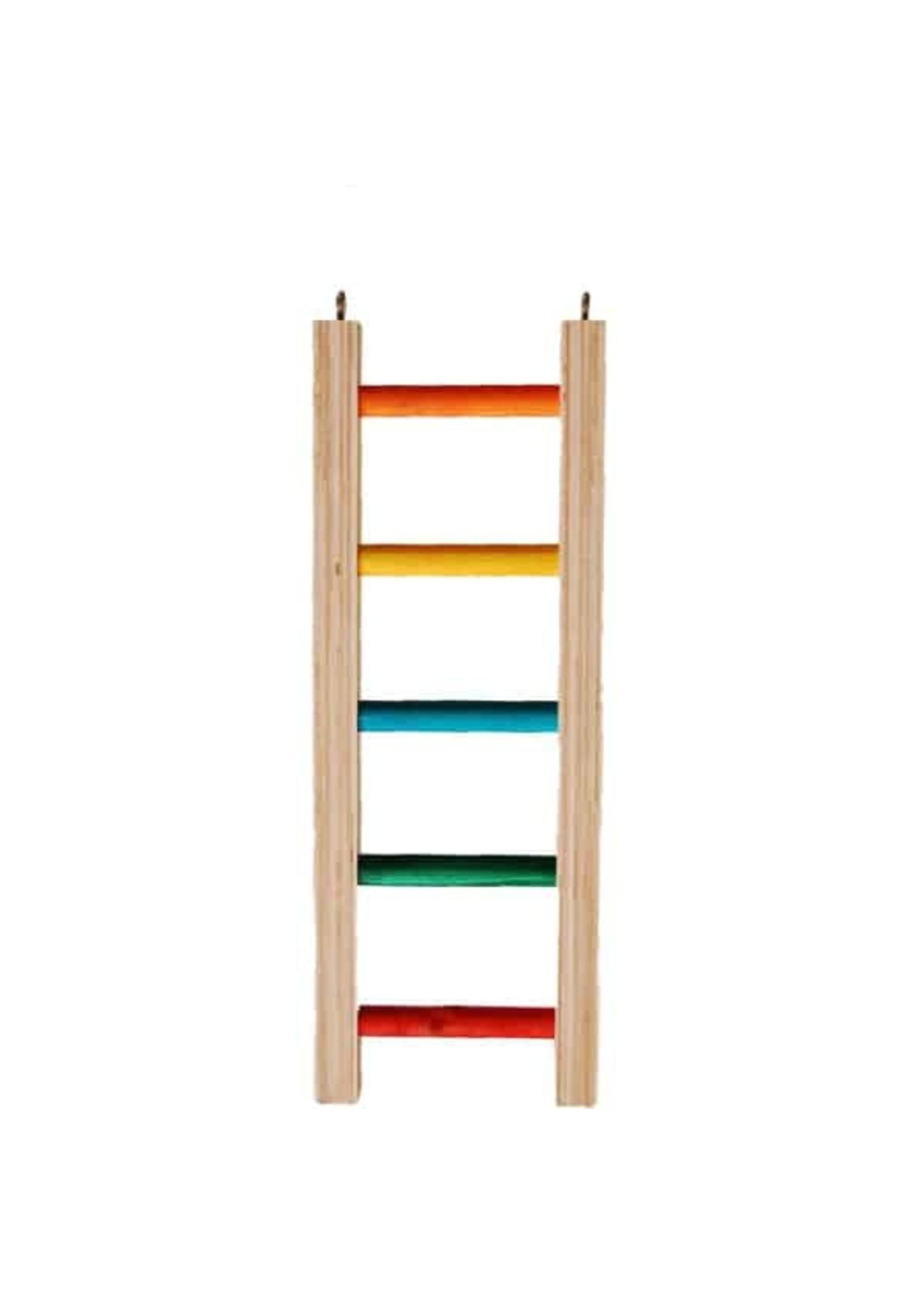 Zoo-Max Zoo Max Hardwood Ladder (4.50'' W X 12'' Long) 900-1