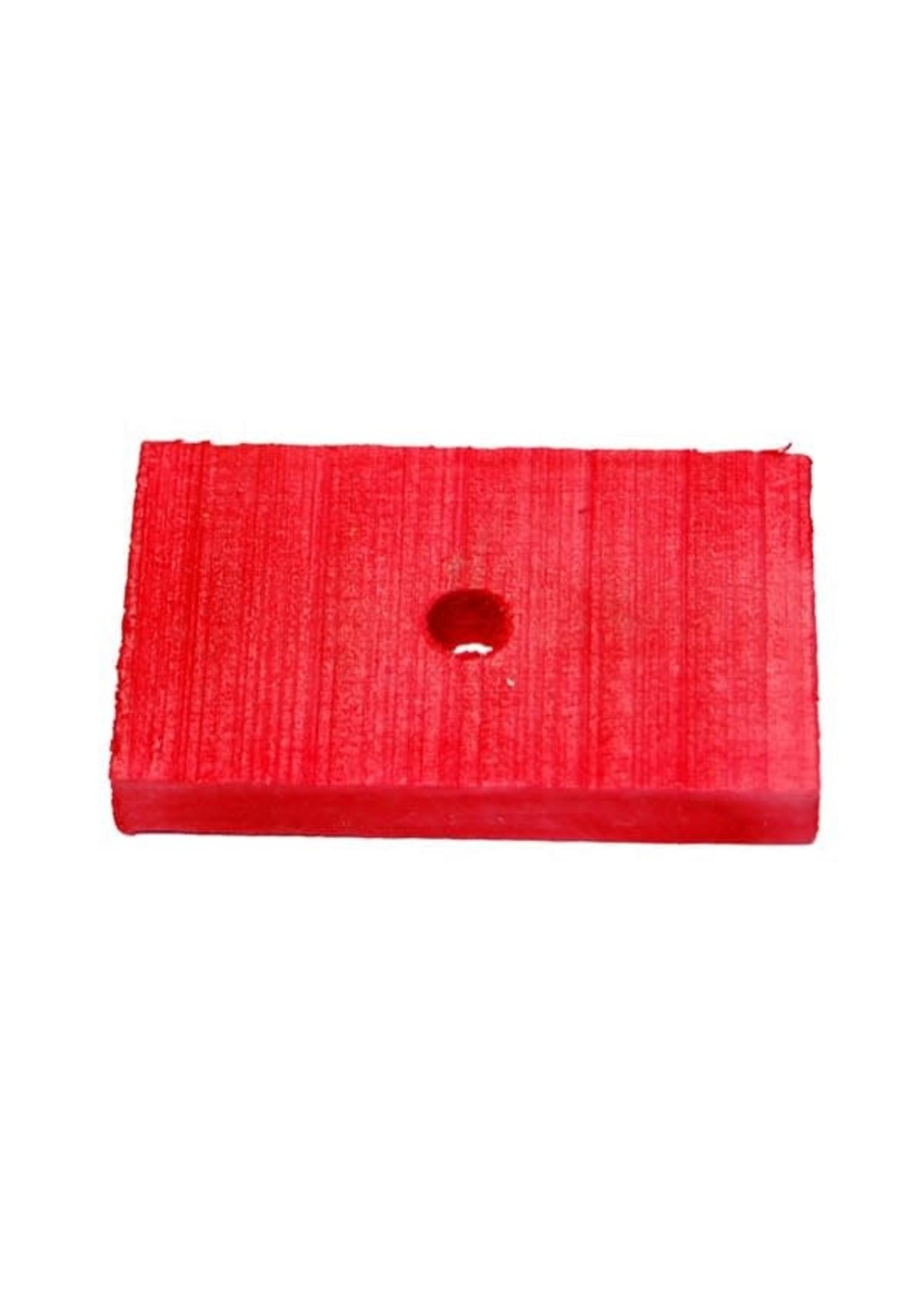 CND Wood Blocks .3125″H X 1.5″W X 2″LO (H1/4)