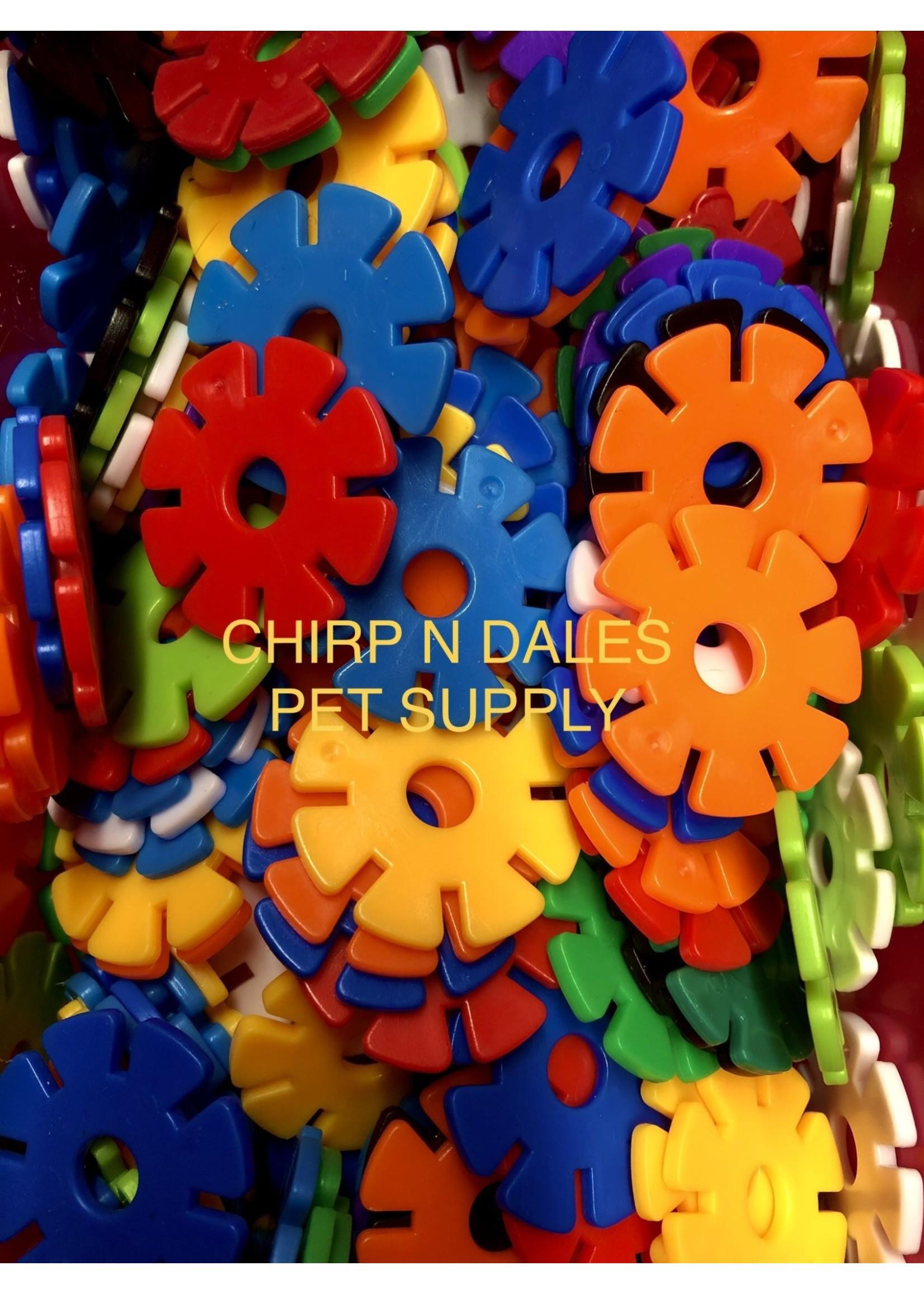 Plastic Snowflake Discs