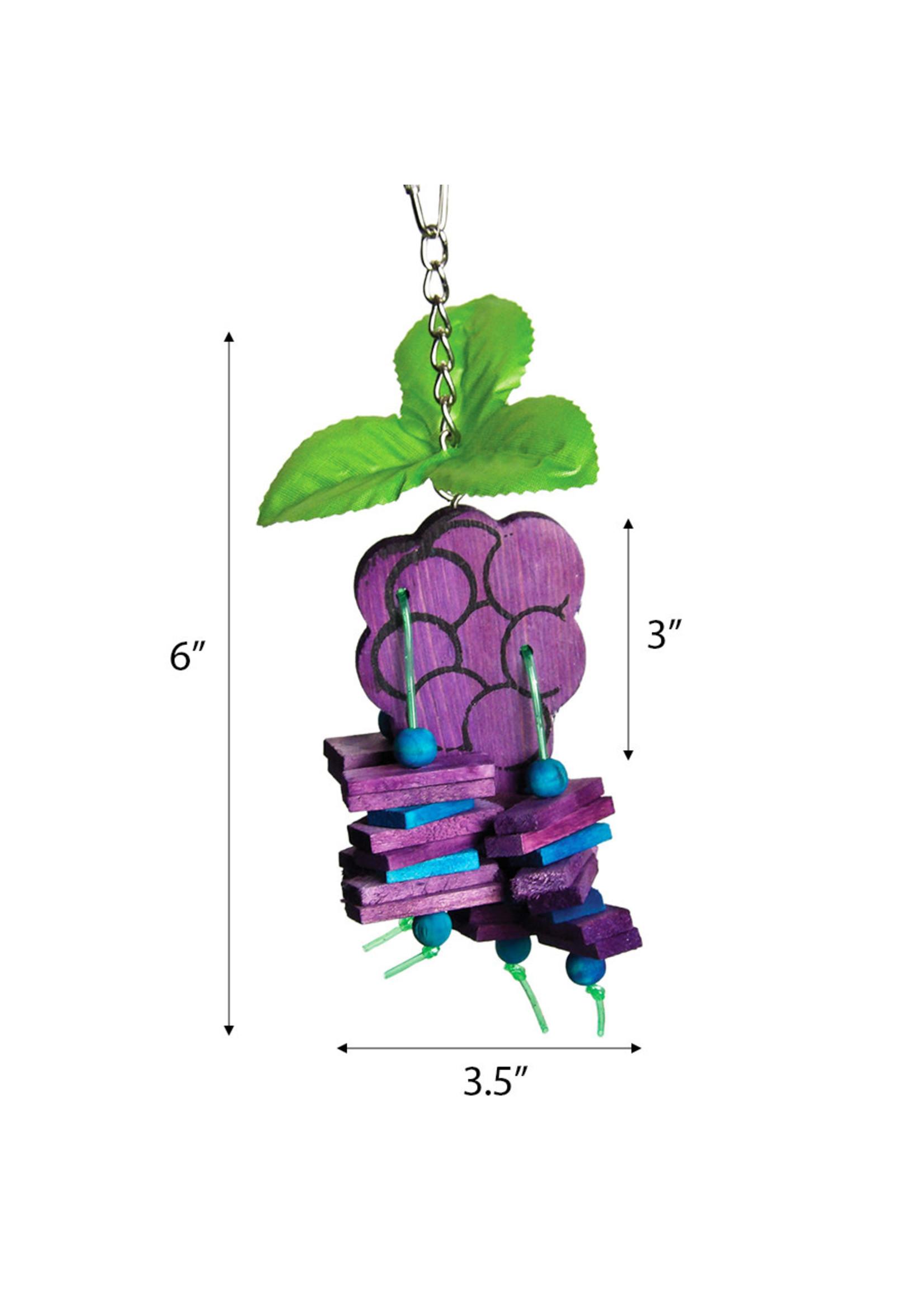A&E Small Grapes Bird Toy HB01420