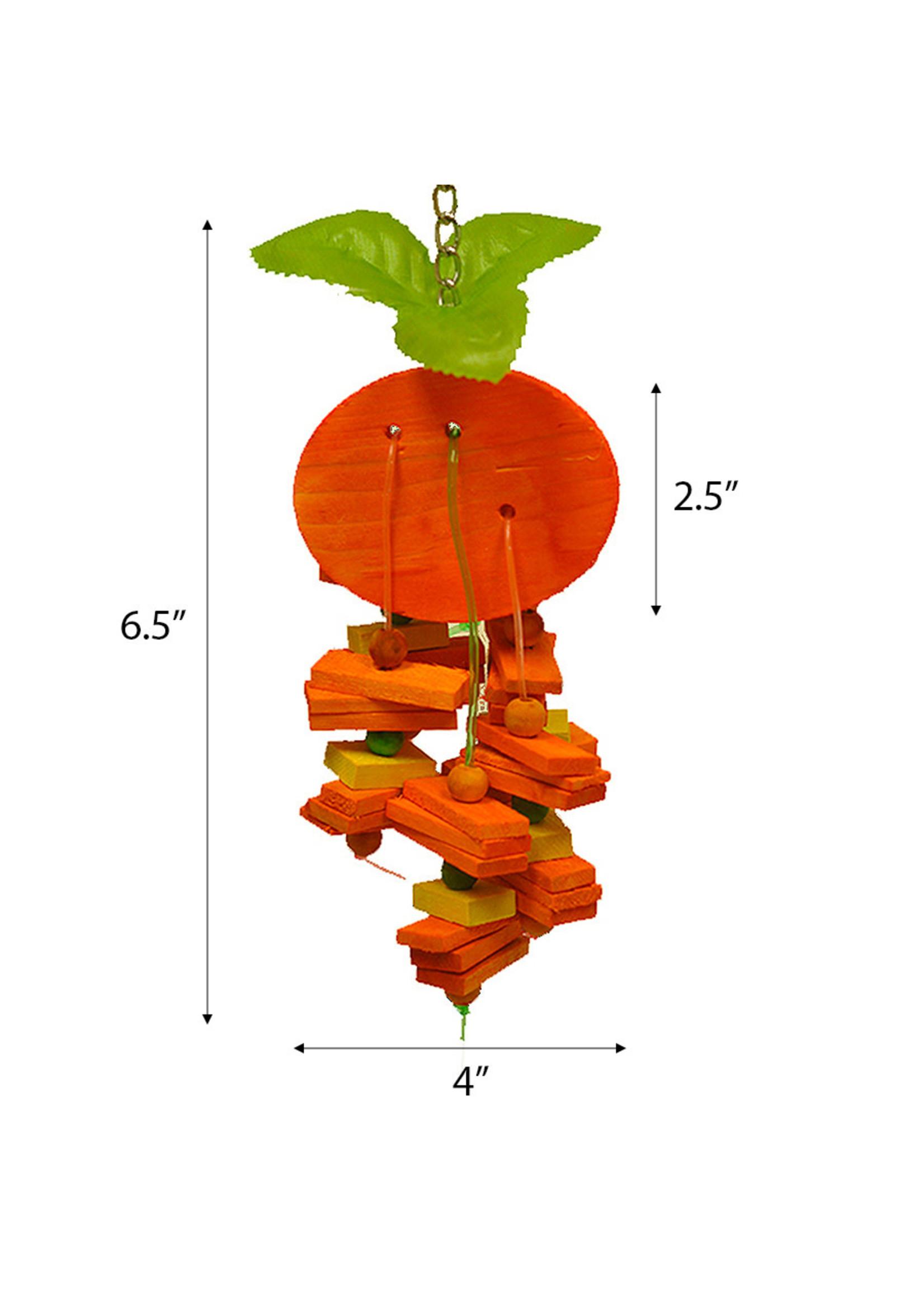 A&E A&E Small Orange Bird Toy HB01419