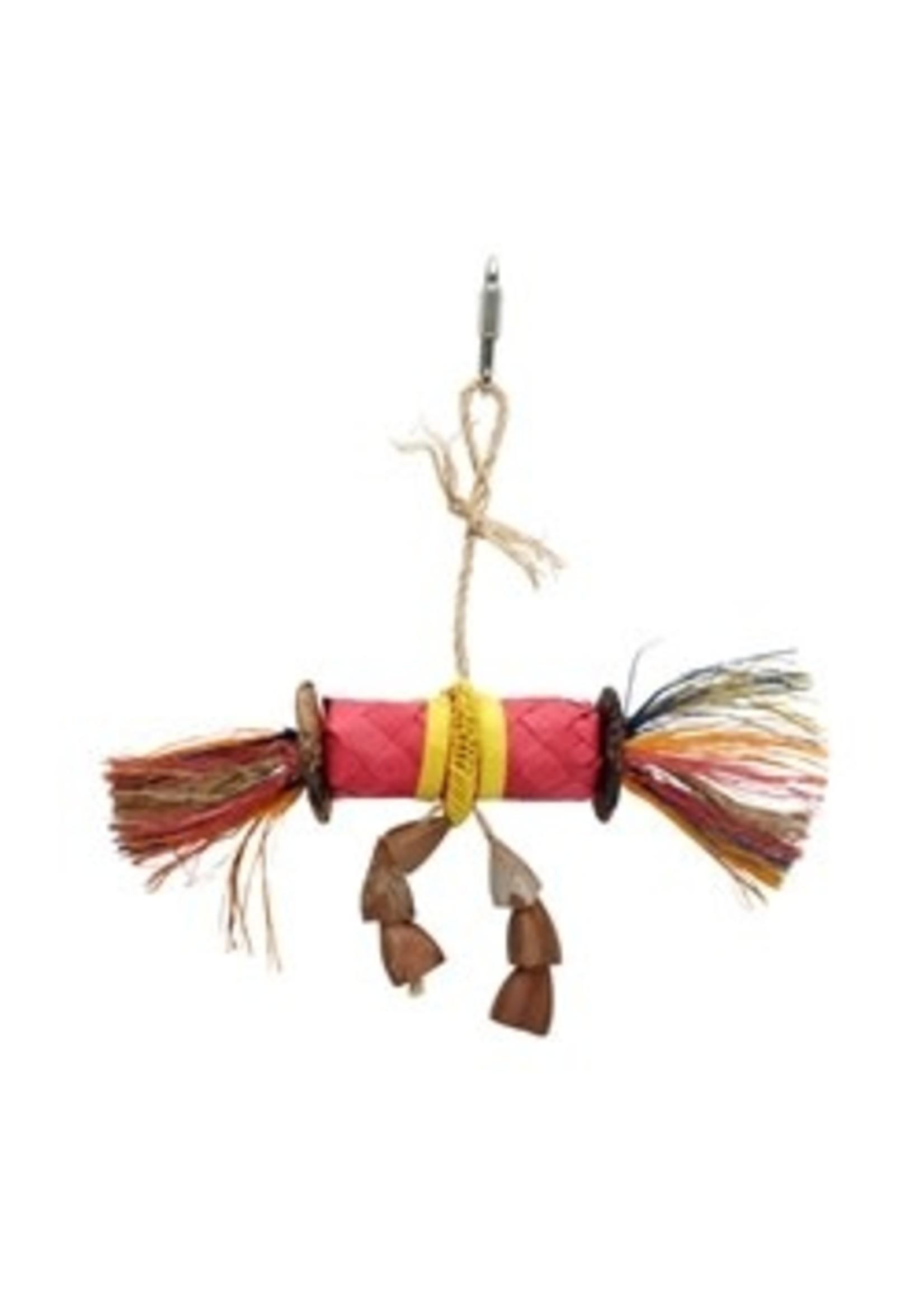 Hagen Hagen HARI Rustic Treasures Bird Toy Buri Wrap Color - Small 81204