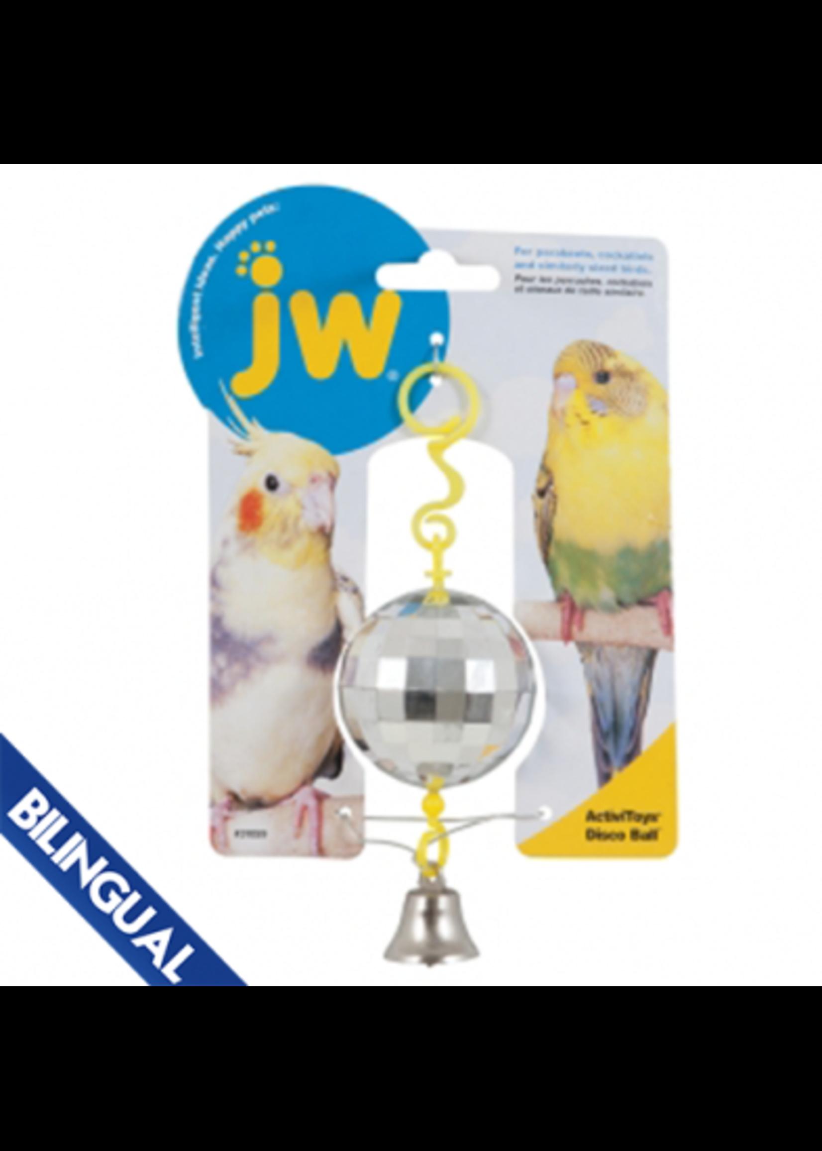 JW JW® ACTIVITOY® DISCO BALL BIRD TOY