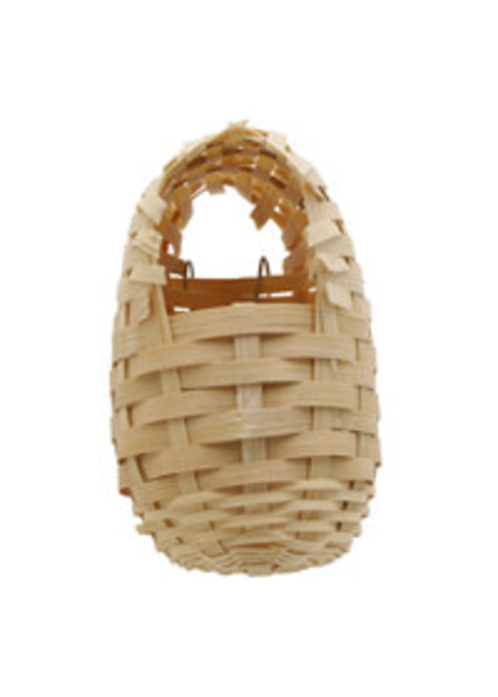 Hagen Living World Bamboo Bird Nest for Finches - Small - 8 cm x 9 cm x 12 cm (3.1in x 3.5in x 4.7in in) 82001