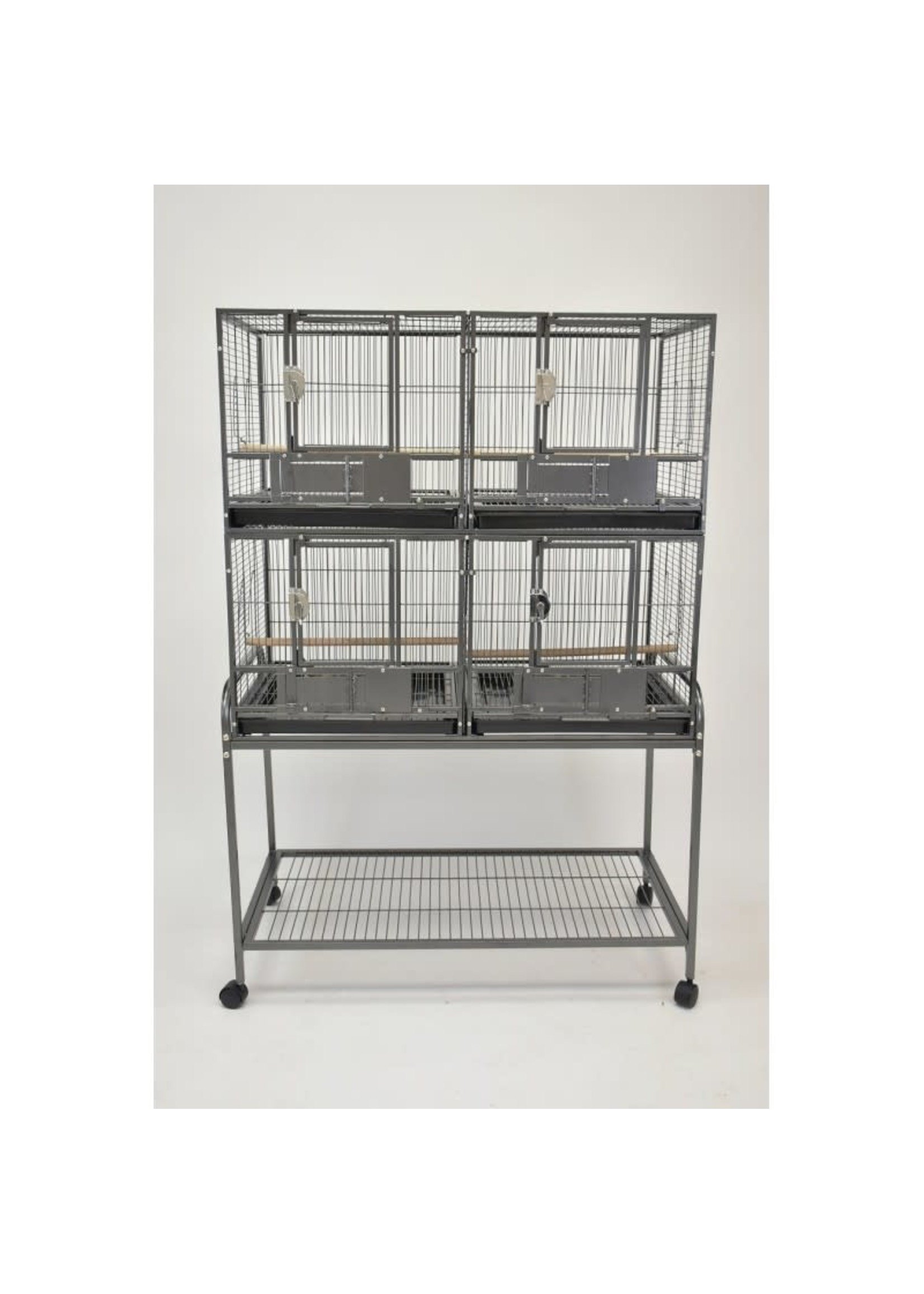 Glitter Pets GP DELUXE DOUBLE STACKED BREEDING CAGE