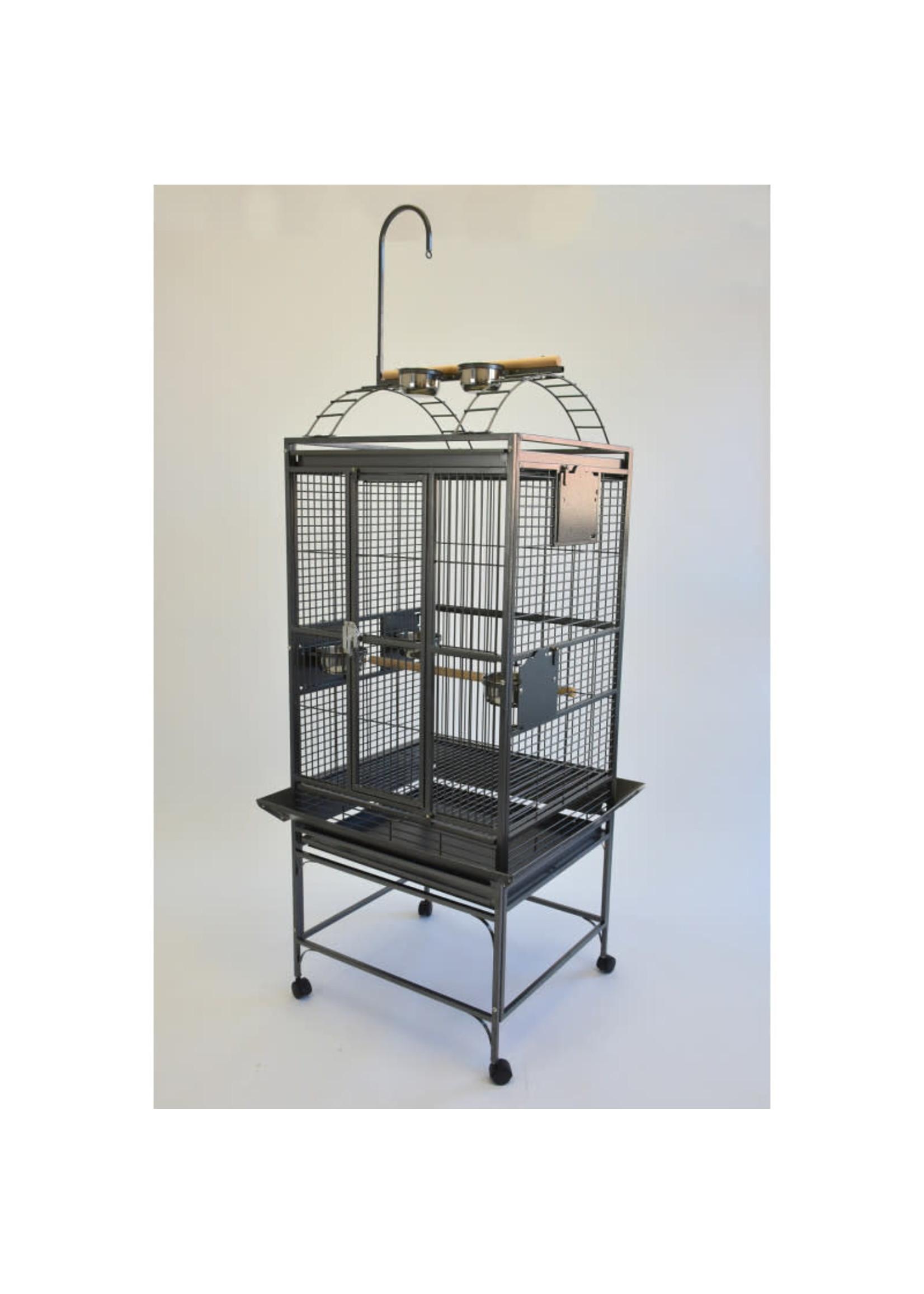 Glitter Pets GP Playtop Cage 24''x22'' Black