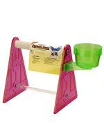 Polly's  Pet Products Polly's portable Stand with Polly's Pastels Perch small