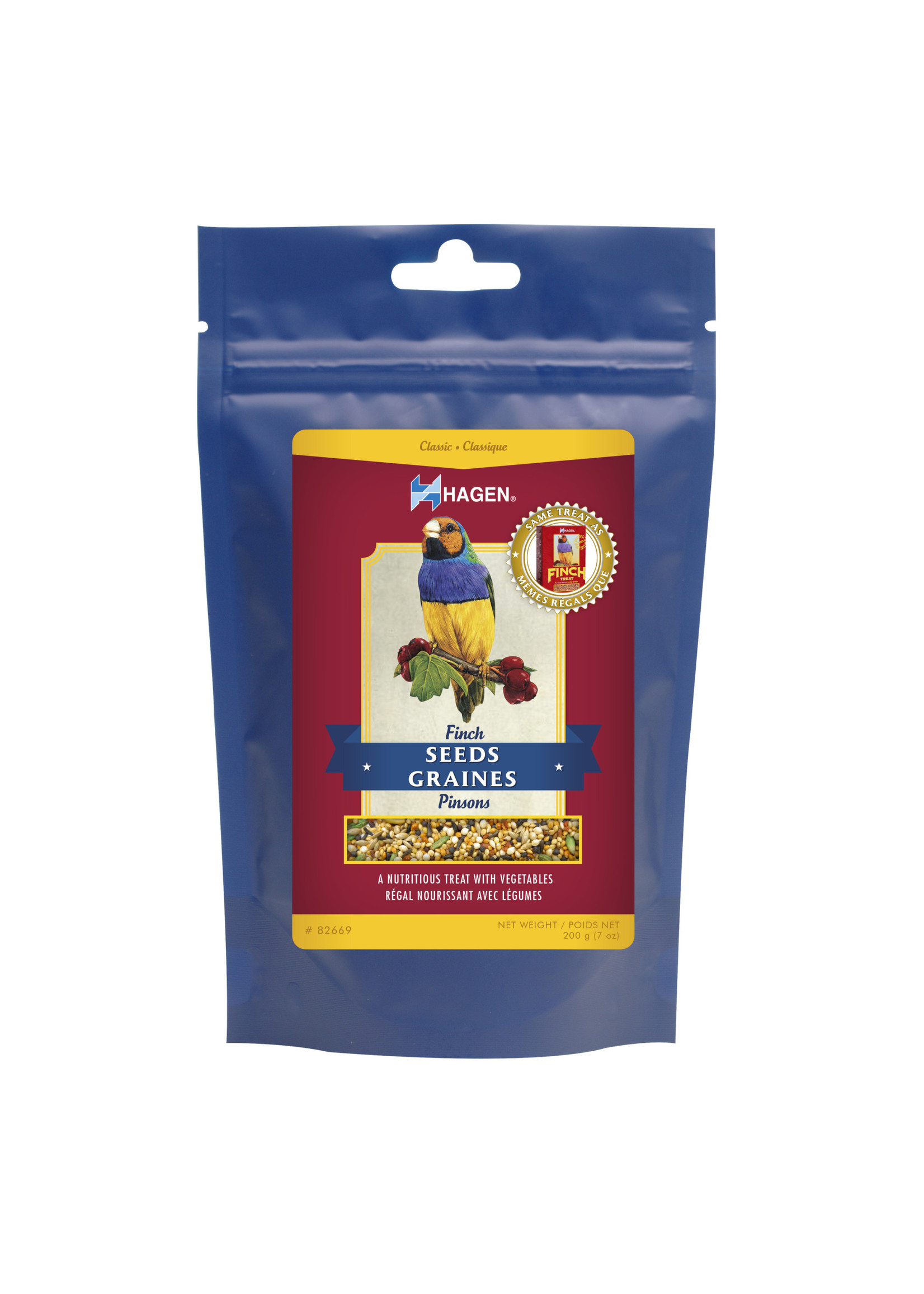 Hagen Finch Seed Treat with Vegetables (7oz)