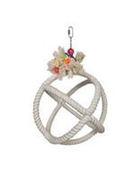 Hagen HARI SMART.PLAY Enrichment Parrot Toy - Roper Orbiter Perch n Swing - Medium