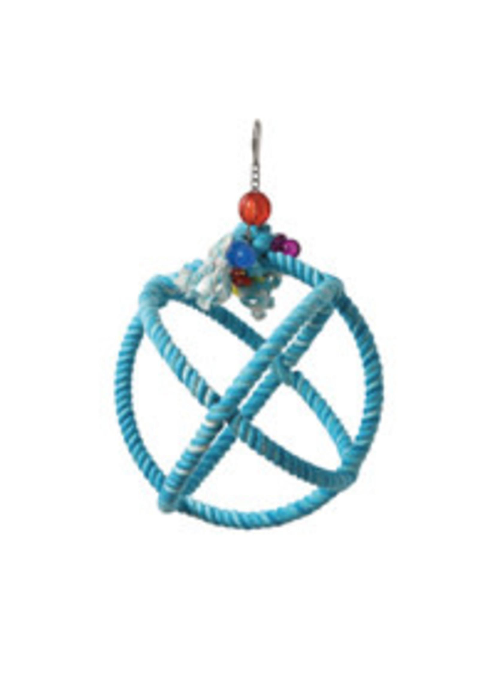 Hagen Hagen HARI SMART.PLAY Enrichment Parrot Toy - Roper Orbiter Perch n Swing - Small 81008