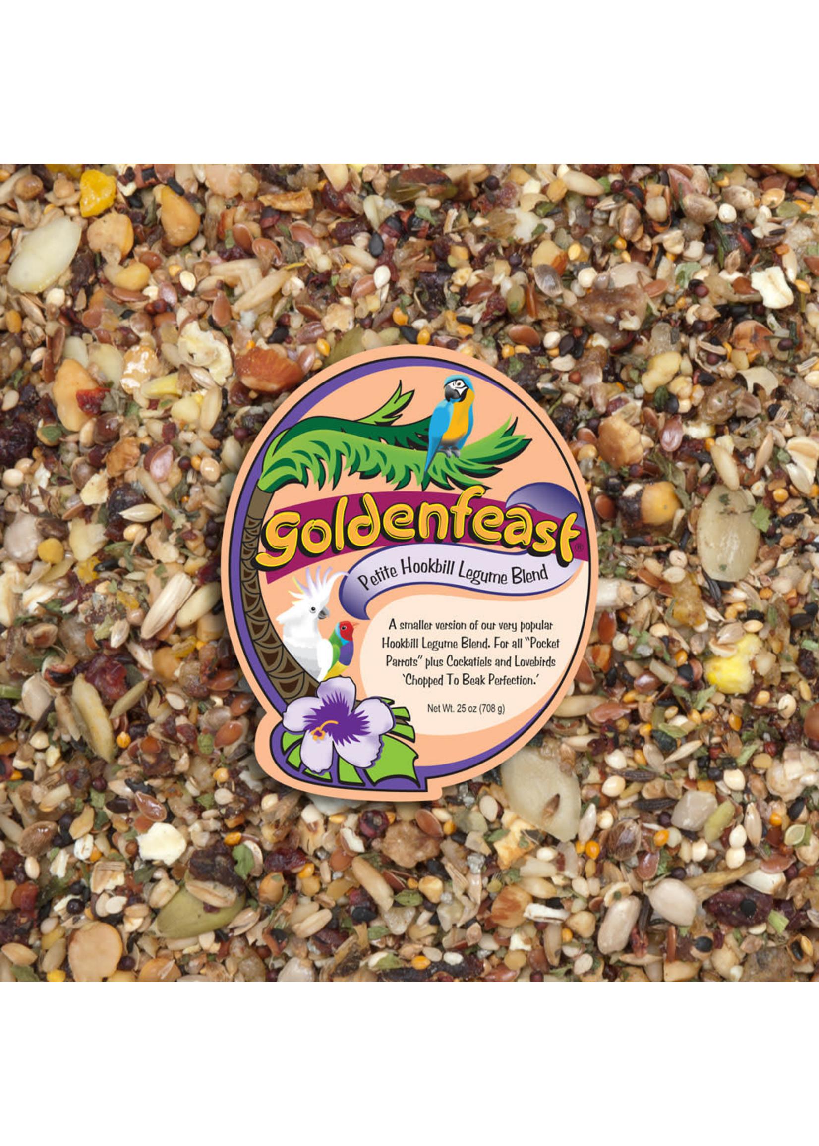 Goldenfeast GF Petite Hookbill Legume Blend (1 LB) 198