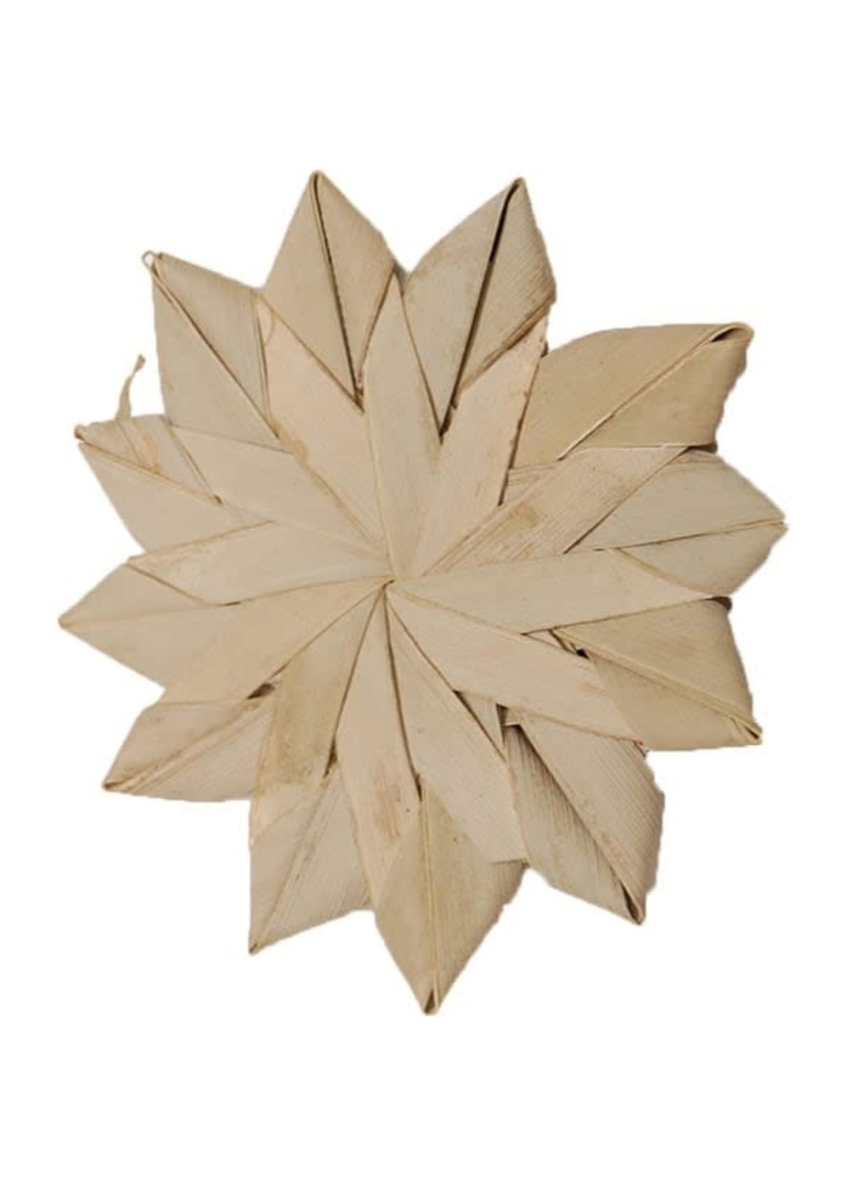 CND Palm leaf flower LARGE (4″-10cm)