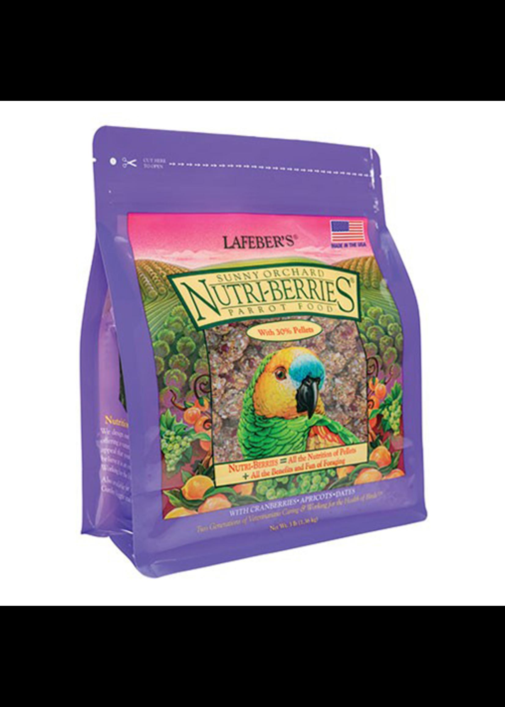 Lafeber's Lafeber Nutri-Berries Sunny Orchard Parrot (3lb)