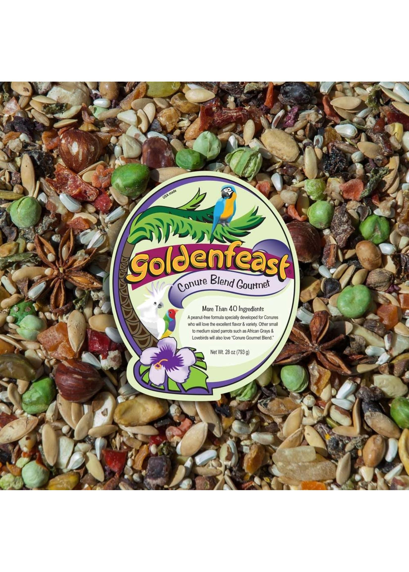 Goldenfeast GF Conure Gourmet Blend (1 LB) 199